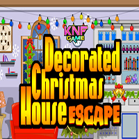 Decorated Christmas House Escape KNFGames
