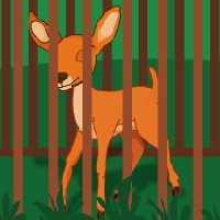 Deer Escape From Cage EscapeGamesToday