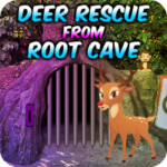 Deer Rescue From Root Cave AvmGames