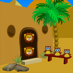 Desert Castle Escape AvmGames