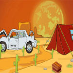 Desert Man Rescue Games2Jolly