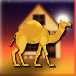 Desert Wooden House Escape Games2Jolly