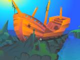 Destroyed Ship Cave Escape