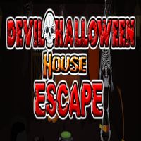 Devil Halloween House Escape TollFreeGames