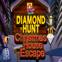 Diamond Hunt 10 Christmas House Escape KNFGames