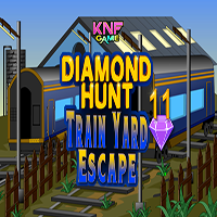 Diamond Hunt 11 Train Yard Escape KNFGames