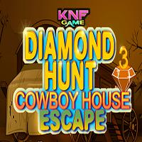 Diamond Hunt 3 Cowboy House Escape KNFGames