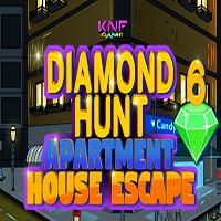 Diamond Hunt 6 Apartment House Escape KNFGames