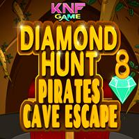 Diamond Hunt 8 Pirates Cave Escape KNFGames