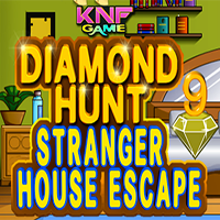 Diamond Hunt 9 Stranger House Escape KNFGames