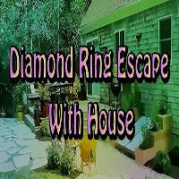 Diamond Ring Escape With House EscapeGamesZone