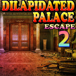 Dilapidated Palace Escape 2 Games4King