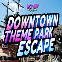 Downtown Theme Park Escape KNFGames
