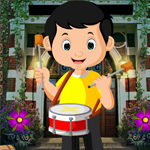 Drummer Boy Rescue Games4King