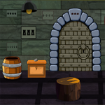 Dungeon Single Door Escape GenieFunGames