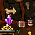Dwarf Escape From Gold Mine GenieFunGames