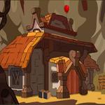 Dwarf House Rescue GenieFunGames