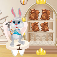 Easter Bunny Room Escape WowEscape