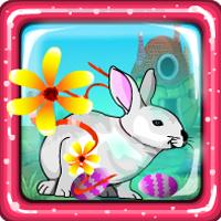 Easter White Bunny Escape Games4Escape