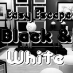 Easy Escape Black And White HiddenOGames