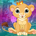Ecstatic Lion King Escape Games4King