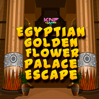 Egyptian Golden Flower Palace Escape KNFGames