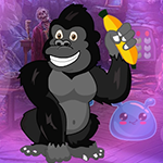 Elated Chimpanzee Escape Games4King