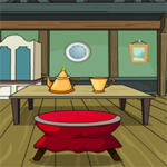 Elegant Cartoon Room Escape OnlineEscape24