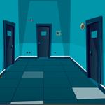 Empty Corridor Escape GenieFunGames