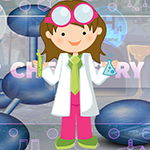 Erudite Chemistry Student Escape Games4King