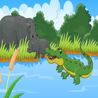 Escape Baby Hippo Games2Rule