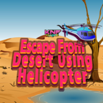 Escape From Desert Using Helicopter KNFGames