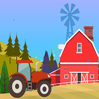 Escape From Village Tractor EscapeGamesZone