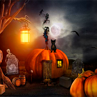 Escape Game Halloween Cementry 2 FirstEscapeGames