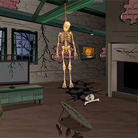 Escape Game Skeleton House 5nGames