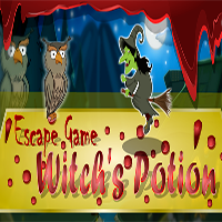 Escape Game Witchs Potion 5nGames