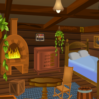 Escape Game Wooden House 5nGames