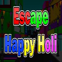 Escape Happy Holi AjazGames