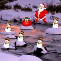Escape Little Santa HiddenOGames
