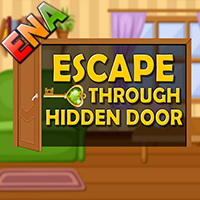 Escape Through Hidden Door ENA Games