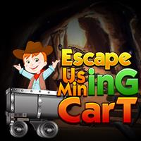 Escape Using Mining Cart ENAGames