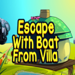 Escape With Boat From Villa KNFGames