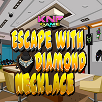Escape With Diamond Necklace KNFGames