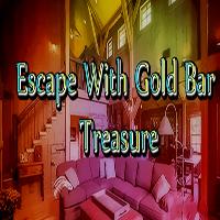 Escape With Gold Bar Treasure GamesClicker
