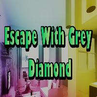 Escape With Grey Diamond EscapeGamesZone
