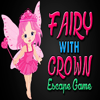 Fairy With Crown Escape Game MeenaGames