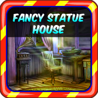Fancy Statue House Escape AvmGames