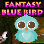 Fantasy Blue Bird Escape Games4King