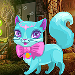 Fantasy Blue Cat Escape Games4King