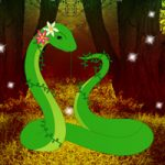Fantasy Green Snake Rescue Games2Rule